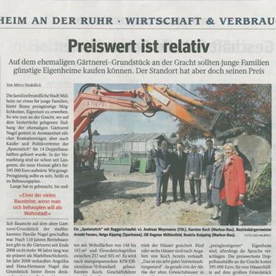 WAZ Ausgabe 5.05.2012