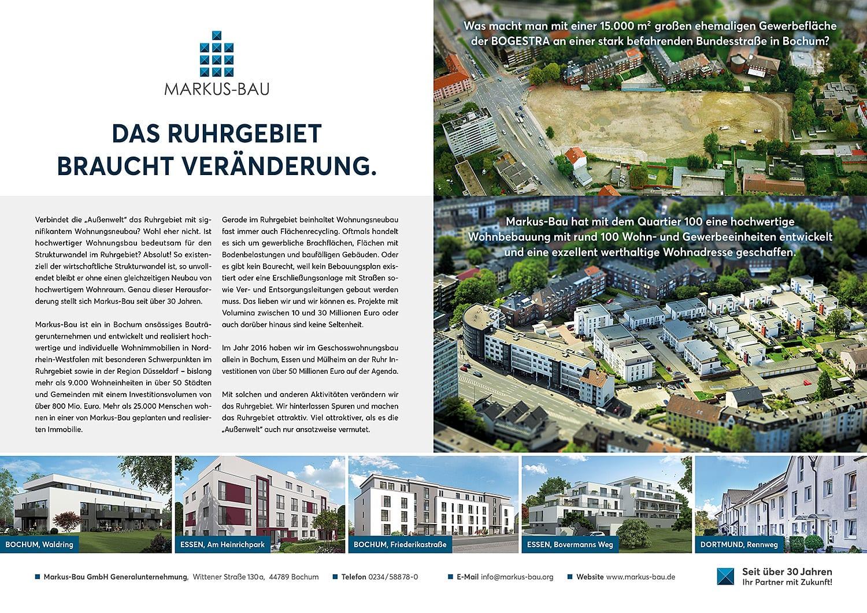 Das Ruhrgebiet braucht Veränderung. Wir verändern das Ruhrgebiet.