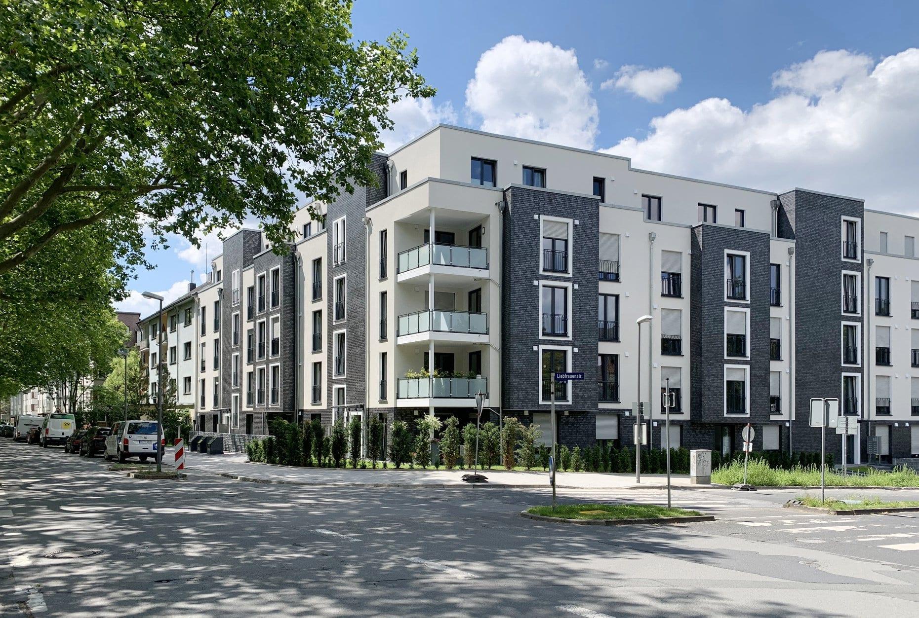 """""""Liebfrauenhöfe"""" in Altenbochum fertiggestellt – 39 neue Wohnungen für den Bochumer Mietwohnungsmarkt"""