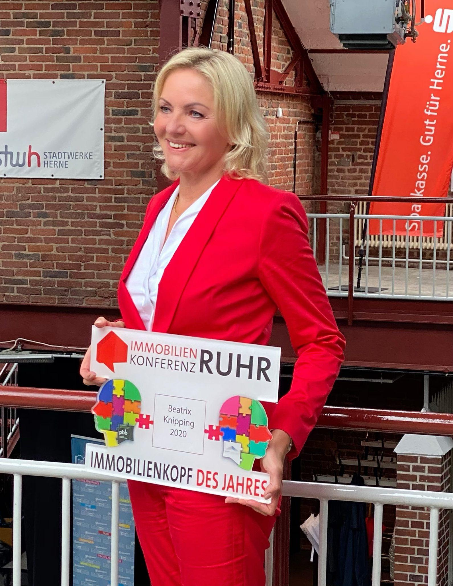 """Beatrix Knipping ist """"Immobilienkopf des Jahres 2020"""""""